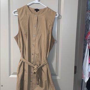 J.Crew Collection tan utility dress